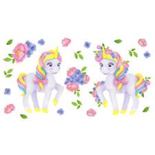 Wall Sticker Decal Unicorns Size 80x120cm approx.