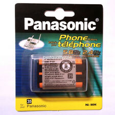 2PCS Genuine Battery for 2.4GHz Panasonic Cordless Phone 650mAh HHR-P107