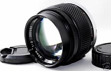 *EXC* Olympus OM-System Zuiko Auto-T 85mm f/2 MF Lens From JAPAN