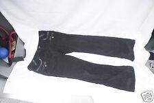VERTIGO PARIS Black Corduroy flared Pants Embellished  SZ:4