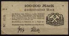 [16834]  - Notgeld WALDENBURG (heute: Wałbrzych), Niederschlesisches Steinkohlen