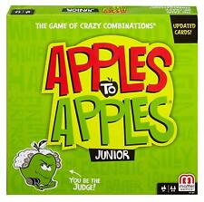 Mattel Apples to Apples Junior - The Game of Crazy Comparisons!