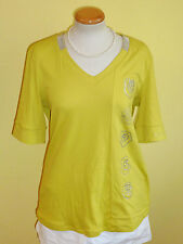 Shirt Sportalm Pale gelb Größe 44 neu
