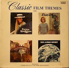 "Ettore Stratta & The Rome Philharmonic ""Classic Film Themes"" LP Record 1971 Exc"