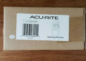 AcuRite 06045M Lightning Detector Sensor with Temperature and Humidity