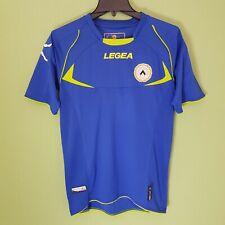 Udinese Away Football Shirt Blue 2012-13 Mens Small Legea
