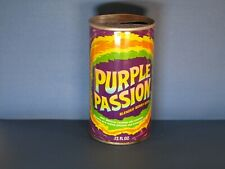 Purple Passion Pull Top Soda Can