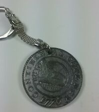 VINTAGE CONTINENTAL CURRENCY 1776 TELEPHONE PIONEERS 1911-1971 COIN KEYCHAIN