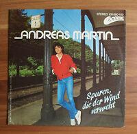 """Single 7"""" Vinyl Andreas Martin - Spuren, die der Wind verweht"""
