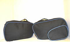 PANNIER LINER BAGS FOR BMW RT GS 1150 1100 850 K1200 EXPANDABLE BLUE COLOUR