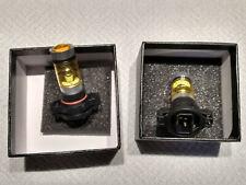 Auto Fog Light Bulbs Pair 2504 Psx24w Led Yellow