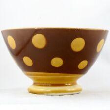 "BOL Ancien ""POIS"" Faïence SARREGUEMINES Retro/Sixties/digoin/Vintage 60 bowl..."