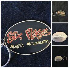 Six Flags Magic Mountain Theme Park Key Chain California Collectibles Souvenir