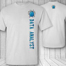 data Analyst Brain T-shirt, data analysis mining integration analyzing tee shirt