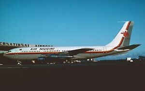 original aircraft slide01 Dia Boeing 707 Air Niugini P2-ANG