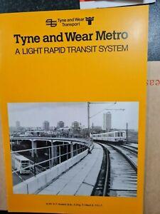 "Tyne & Wear Transport Booklet ""A Light Rapid Transport System"" D F Howard N5.3"