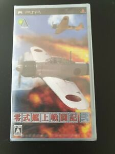 Zero Shiki Kanjou Sentouki Ni Sony PSP Japan Import NEW sealed ULJM-05296