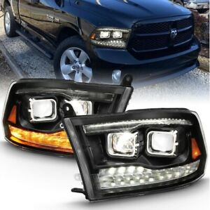 Anzo 111464 LED Projector Headlight For 11-18 Ram 3500