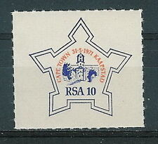 RSA - label 1971 Philately Kaapstad Cape Town