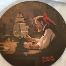 The Ship Builder Norman Rockwell Decorative Plate