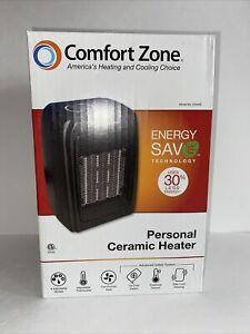 COMFORT ZONE   PERSONAL CERAMIC HEATER ✪NEW✪ CZ442E SPACE HEAT ENERGY SAVE FAN