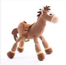 Toy Story 4 Pixar Bullseye Plush Toys Soft Stuffed Red Heart Horse Kid Xmas Gift