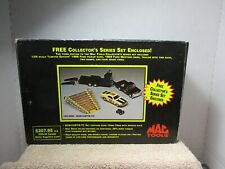 1/25 SCALE MAC TOOLS 1966 FORD PICKUP & 1969 FORD MUSTANG BANK W/ TRAILER