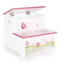 Guidecraft G86606 Butterfly Buddies Storage Step-Up stool