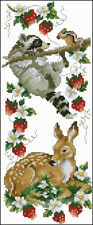 Strawberry Patch Cross Stitch ChartDigital Format