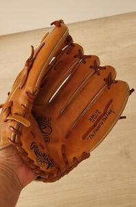 Echt Leder ORIGINAL USA Baseball / Softball Fanghandschuh Handschuh RAWLINGS