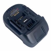 Batterieadapter für BLACK & DECKER / PORTER CABLE / STANLEY an MAKITA 18V Tool