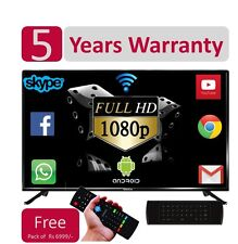 "BlackOx 32LF3201 32"" FULL HD SMART Android LED TV -5 yrs Wty-WiFi-LAN:Air Mouse,"