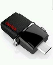 New SanDisk 64GB OTG Ultra Dual USB 3.0 High Speed 150MB/S Pen Drive SDDD2-064G