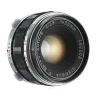 OLYMPUS F.ZUIKO AUTO-S 38mm F1.8 LENS 4 PEN F FT HALF FRAME CAMERA