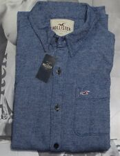 NWT Hollister Guy Textured Flannel & Classic & Oxford Plaid Shirt By Abercrombie