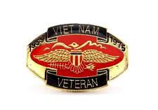 Wholesale Lot oF 12 Viet Nam Veteran 1959-1975 Vietnam Lapel Hat Pin PPM005