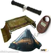 NGT Carpa CULLA unhooking MAT TAVOLA + 25K Mini bilance digitali, Sling + pesare BAR