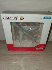 Herpa 533935 - 1/500 Qatar Amiri Flight Boeing 747-8 BBJ - Neu
