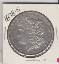 1878-S MORGAN SILVER DOLLAR ITEM #743-60