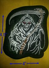Grim Reaper Patch 4.5'' by 4''  FREE SHIPPING