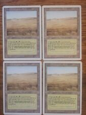 4x Savannah - Dual Land - Revised - MTG