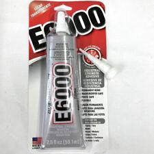 NEW 1 x E6000 - 2.0 fl oz Tube - Clear + 1 x Bonus Nozzle + Free Post