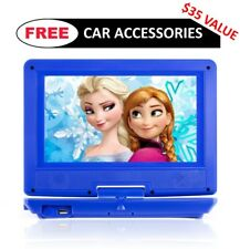 "USED Portable DVD Player for Car, Plane, etc - 9"" Screen - Rechargeable Battery"