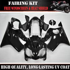 Black ABS Injection Bodywork Fairing Kit For Honda CBR600F4i 2004-2007 2005 2006