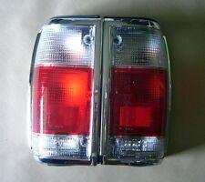 Pair Tail Light Clear - Red Lens for Mazda B2000 B2200 B2600 Truck Pickup Ute