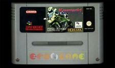 KAWASAKI SUPERBIKES Super Nintendo SNES Versione Europea PAL ○○○○ SOLO CARTUCCIA