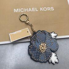 MK Handbag Charm Michael Kors Hang Tag Flower Key Fob Valentine Gift RRP £60