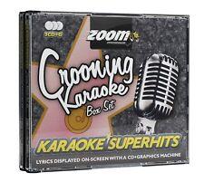 Zoom Karaoke CD+G - Crooning Superhits - Triple CD+G Karaoke Crooners Disc Pack