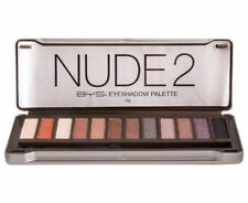 1 x BYS EYE SHADOW PALETTE NUDE 2 NUDE2 SET OF 12 MIXED SHIMMER