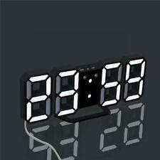 Digital LED Table Desk Night Wall Clock Alarm Watch 24 or 12 Hour Display Hot
